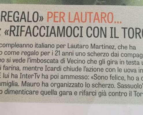 Lautaro Martinez epic fail