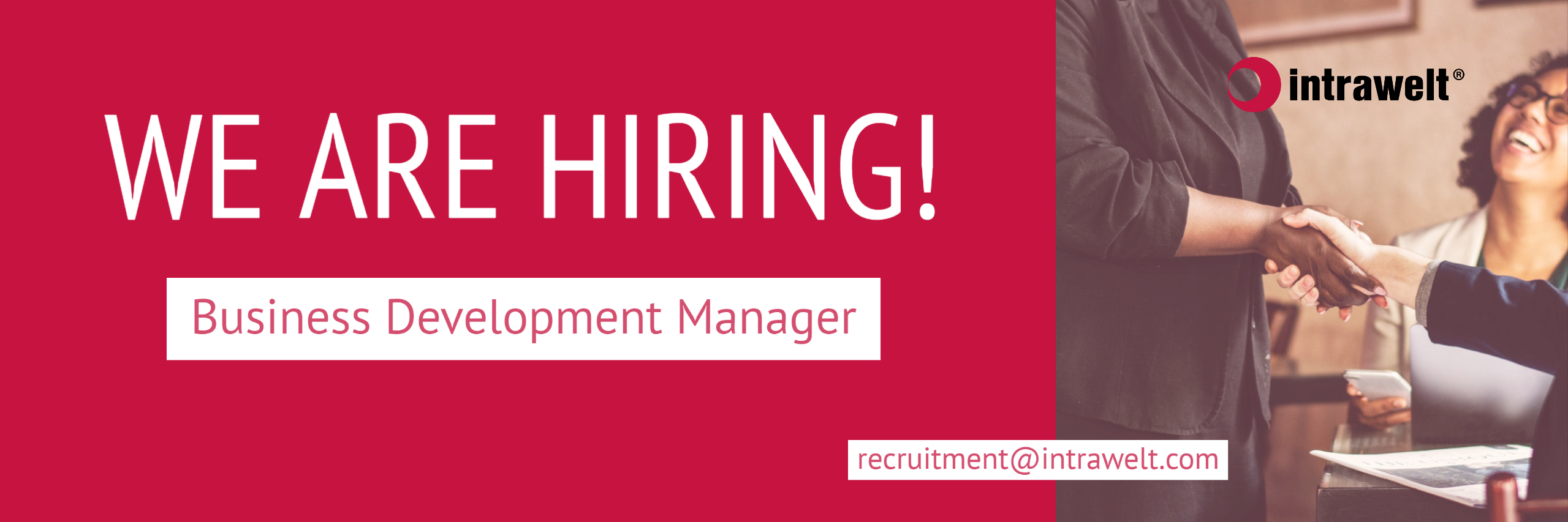 Business Development Manager For Eu Work With Us Intrawelt